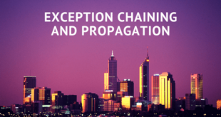 Exception Chaining