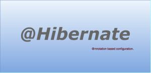 Hibernate 4 annotations