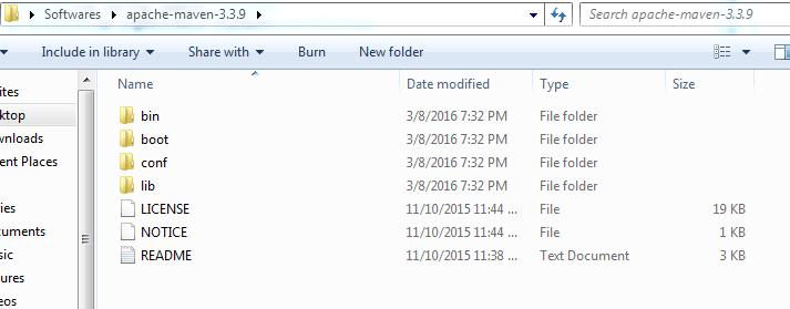 Install Maven Downloads