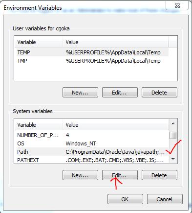Install Maven Edit Path