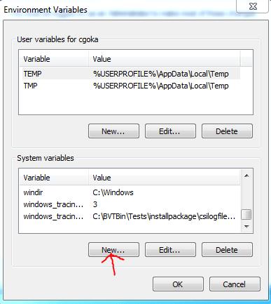 Install Maven Environment_variables