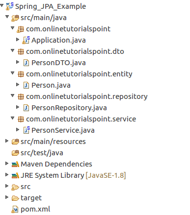 Spring Boot Jpa Integration Spring Data Jpa Boot Example