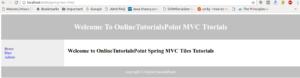 Spring MVC Tiles 1