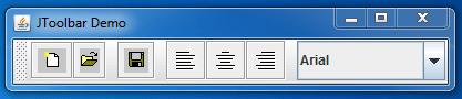 JToolBar Example