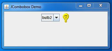 Java JComboBox 1
