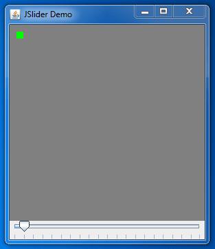 Java JSlider Example