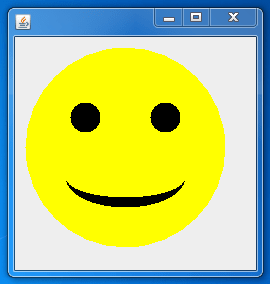 Smiley Java Swing