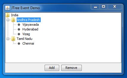 add dynamic files to JTree 2