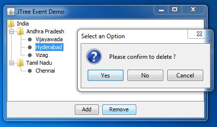 add dynamic files to JTree 3