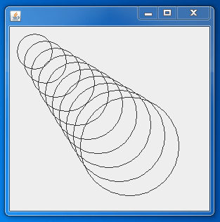 draw shapes using Graphics 4