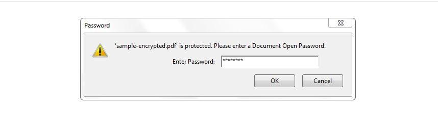 generate Encrypted pdf in Java