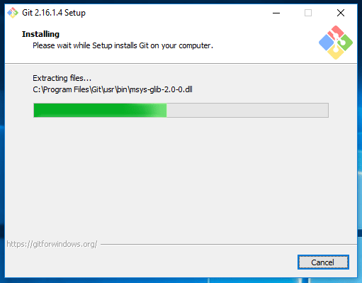 Git install windows 10