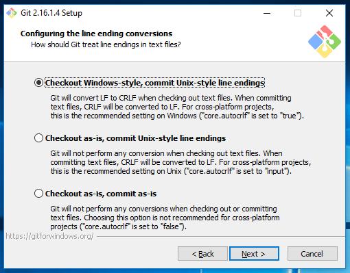 Git install windows 10