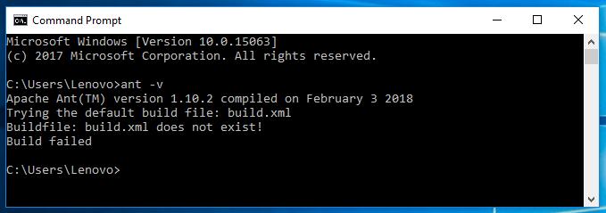 Install Ant on Windows 5