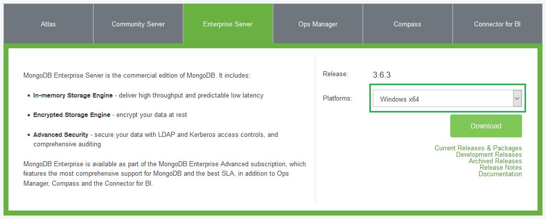 Install MongoDb 1 On windows 10
