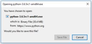 install Python on windows 10 2
