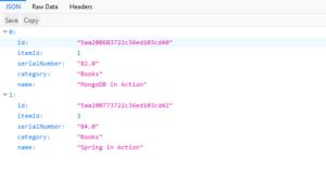 Spring Boot MongoDB Example 3