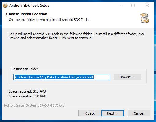 Android SDK Windows Manual Setup 4
