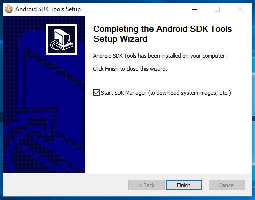 Android SDK Windows Manual Setup 7