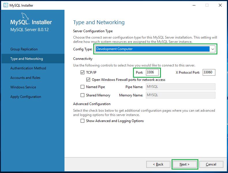 Install MySql on Windows 10 -16