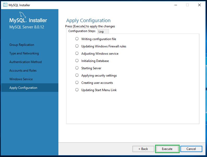 Install MySql on Windows 10 -21