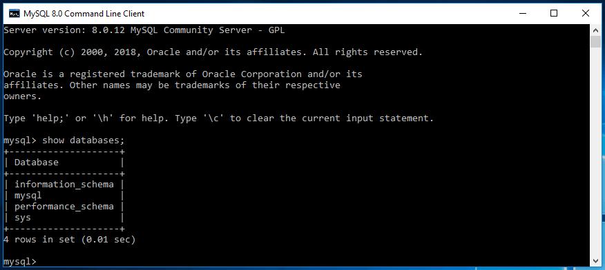 Install MySql on Windows 24