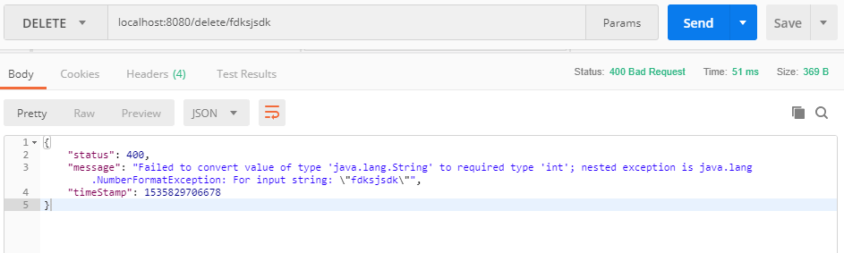 Springboot Exception Handling 12