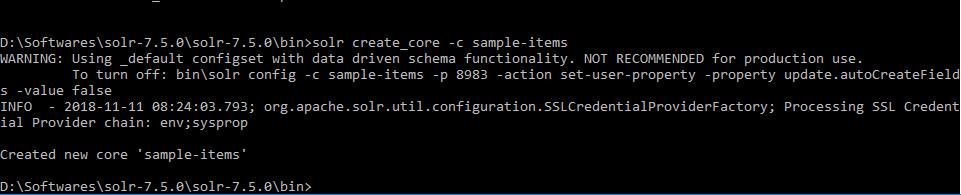 Install Apache Solr on Windows 10 Creating Core-min