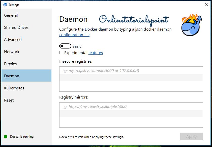 Install Docker On windows 10 Settings 6-min