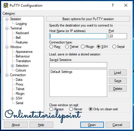 Install Putty on Windows 10 7-min