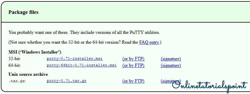 Install Putty on Windows 10(1)-min