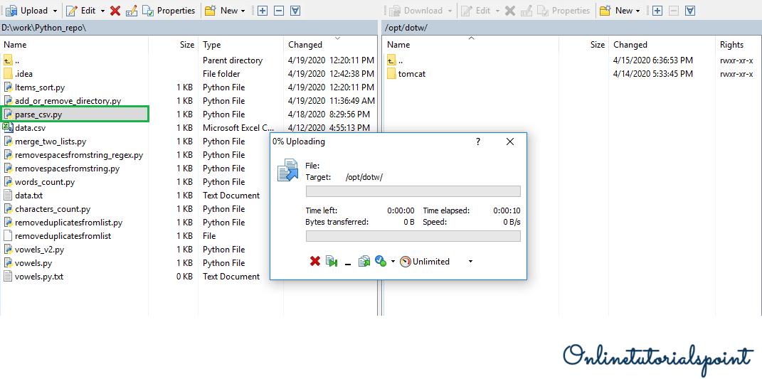 copy Local Files to AWS EC2 3